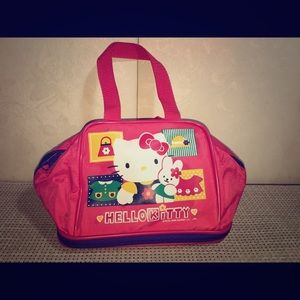 Hello Kitty Pop Up Compartmented Nylon Bag